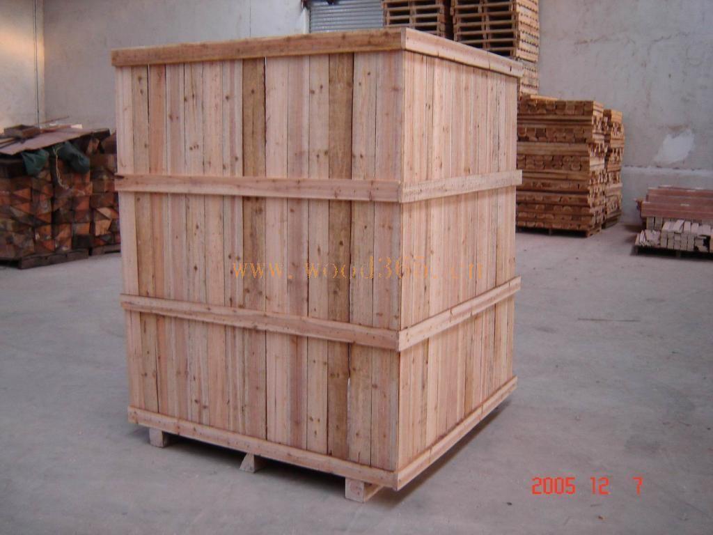 木箱、熏蒸木箱