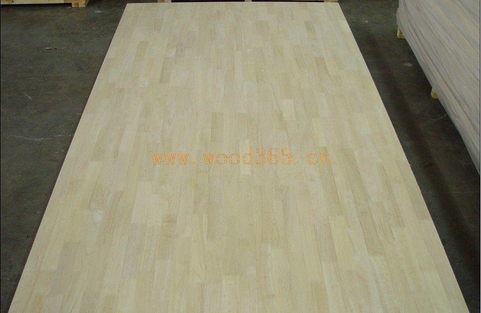橡胶木指接板 优质原材