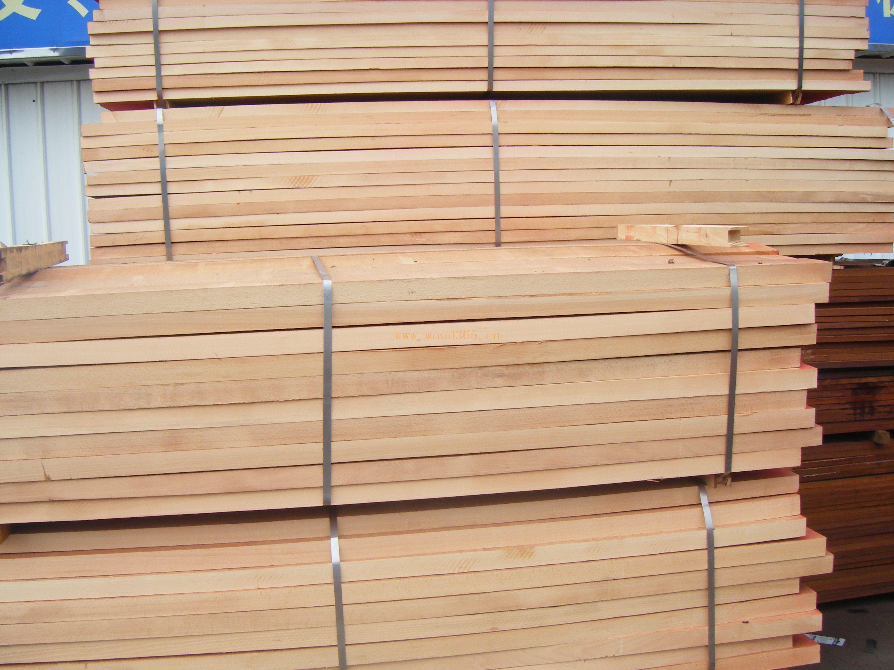 欧洲榉木板材 枫木 橡木 白栓(水曲柳)原木板材 白栓