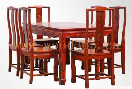 韩国传统木雕桌椅