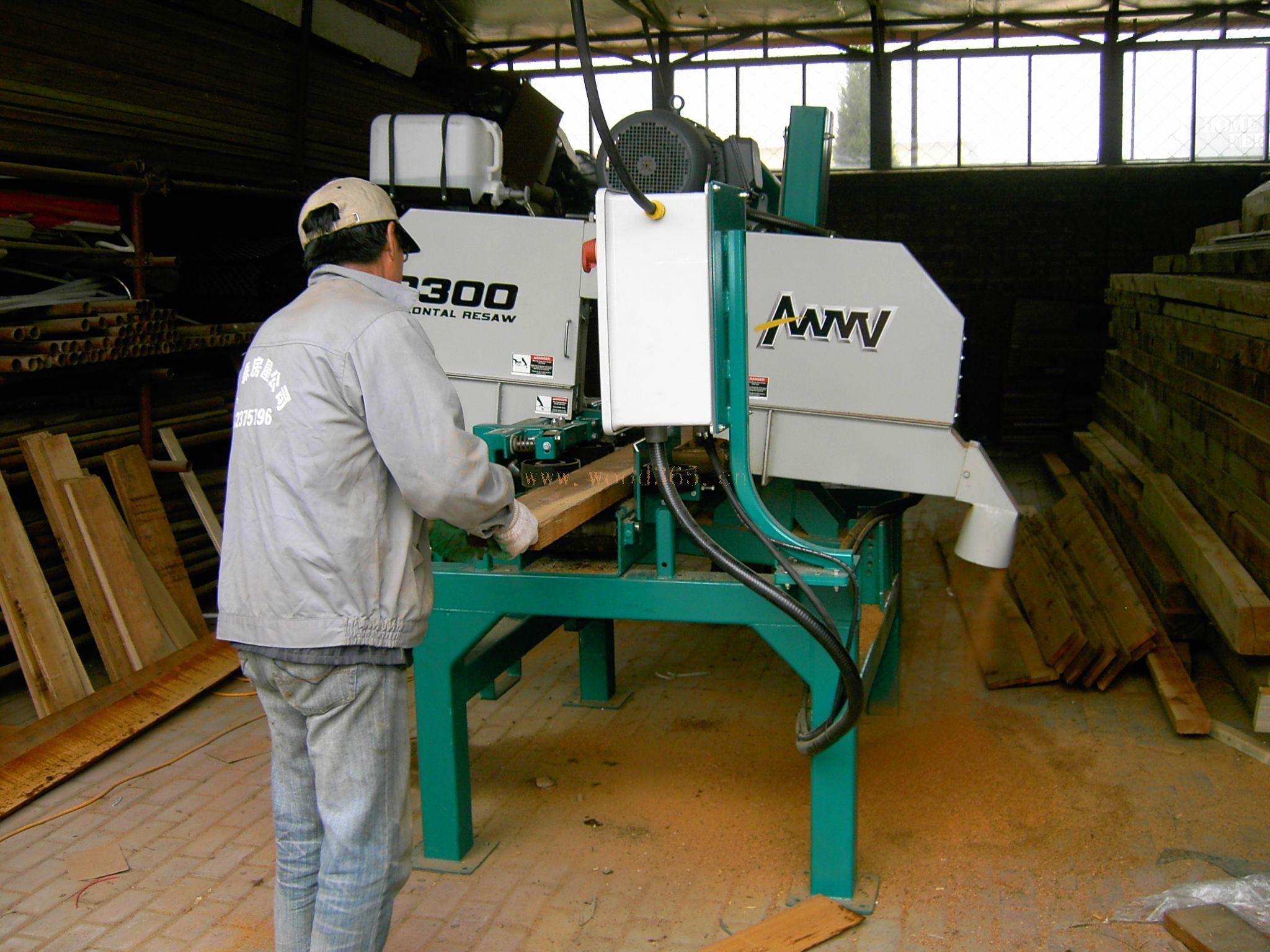 木方带锯机
