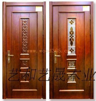 欧式雕花门-仿古实木门-实木雕花门-吉林省长春艺和艺晟实木制品