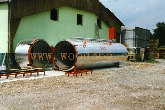 意大利达意木材碳化设备