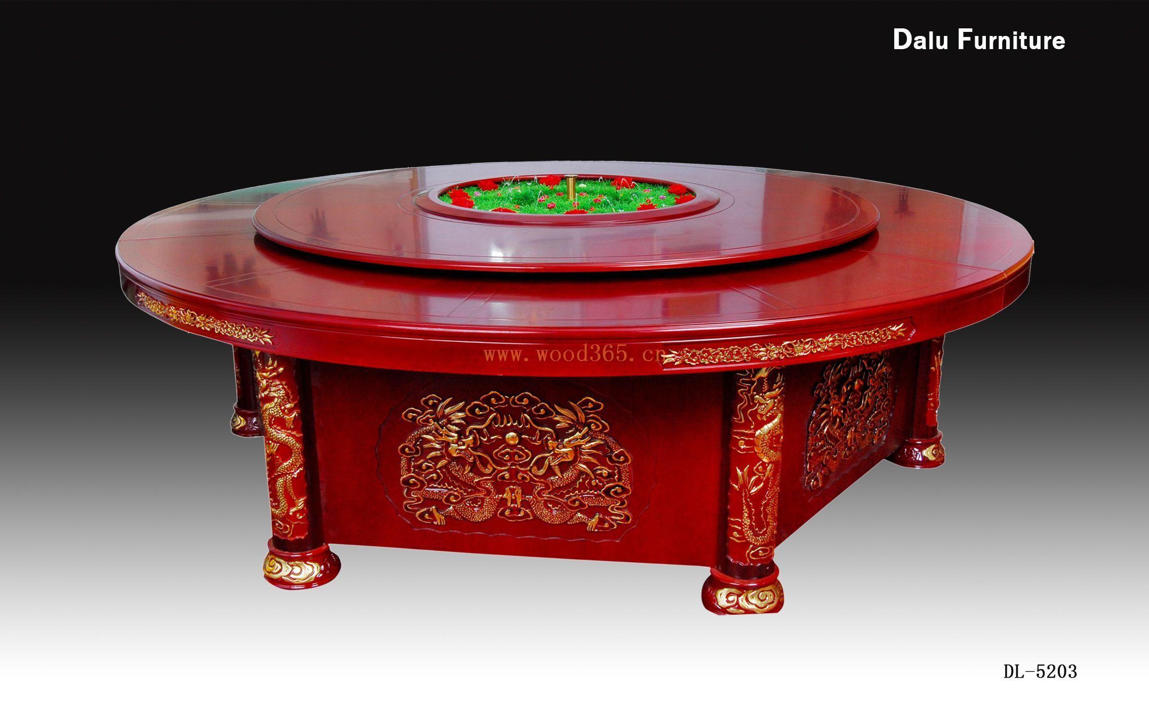 自带音乐喷泉电动餐桌,全自动餐桌,饭店圆桌,宴会桌