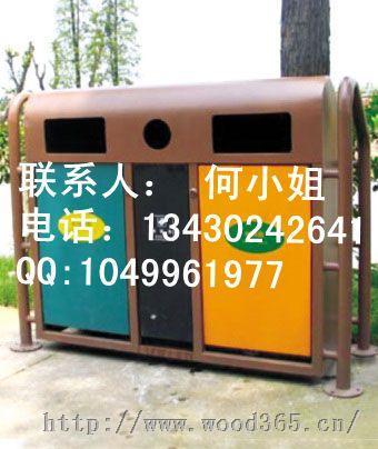 供应美国分类垃圾桶,商业街垃圾桶,商场垃圾箱