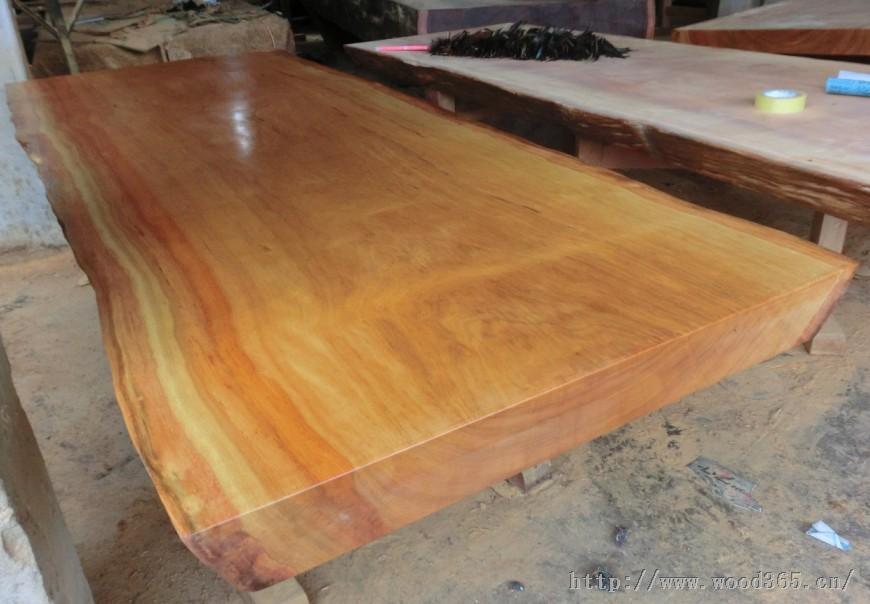 工厂 非洲花梨木板桌黄花梨红花梨鸡翅木奥坎草花梨