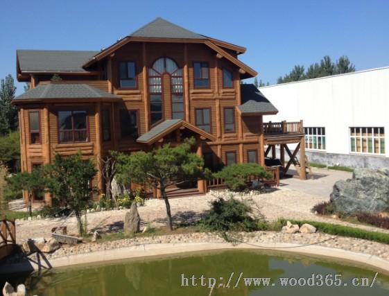 山东龙腾生产定做各种木屋,木别墅,木亭子木栅栏等木结构设施