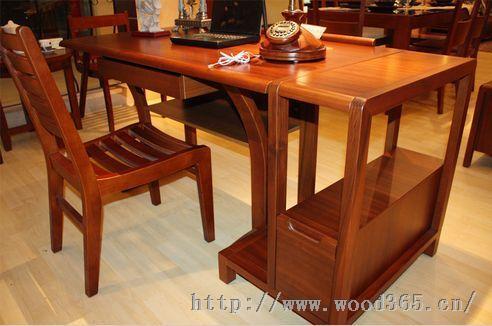 供应实木书桌 老榆木书桌 红木办公桌 实木电脑桌 中式书桌定
