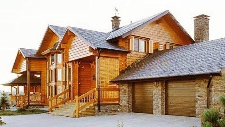 长期供应大型木制别墅