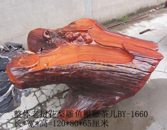 木雕动物熊图片