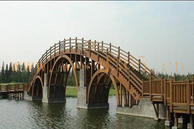 上海臻源-木结构桥梁
