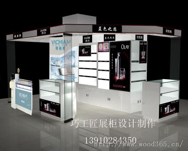 展柜北京巧工匠展柜设计制作公司
