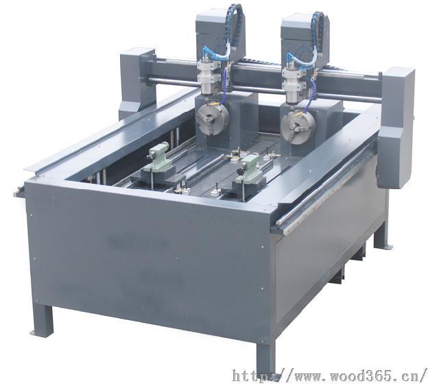 豪刻圆柱雕刻机hk-1118双旋转轴雕刻机