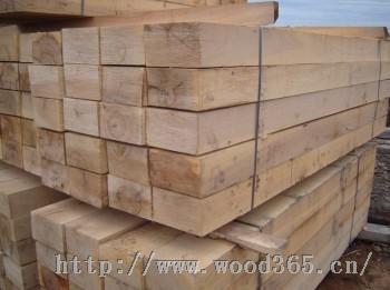 专业生产定做各种规格木方 枕木 建筑木方 建筑模板广州花都木制品厂