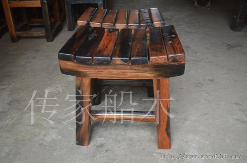 中山老船木凳子