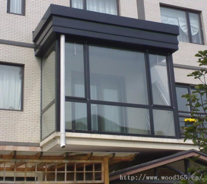厦门铝合金门窗封阳台订做