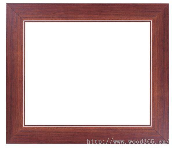 实木圆角(直角)松木 栗木 红木画框.精品画板图片