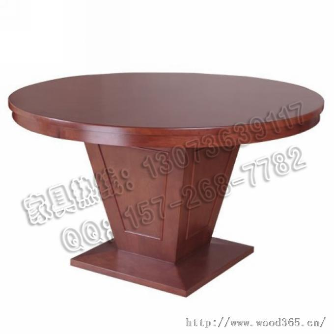 杭州实木餐厅桌子 杭州中餐厅实木圆桌/杭州中餐厅实木桌