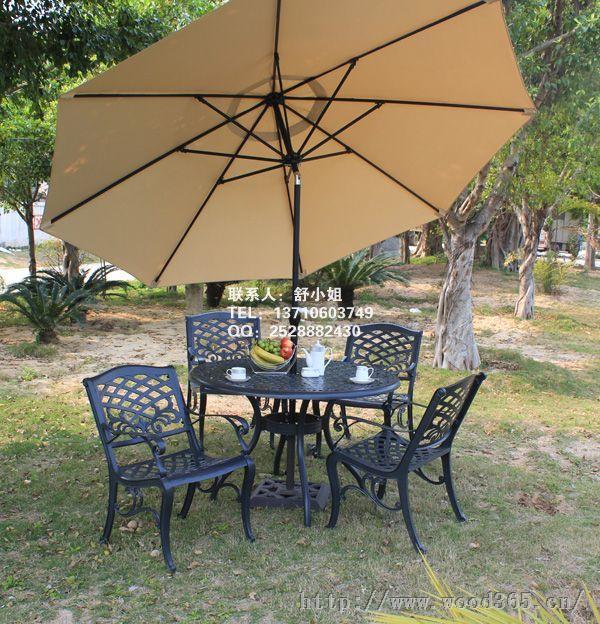 增城铸铝桌椅 欧式铁艺家具 阳台休闲桌椅 尤特里欧铸铝桌椅特价