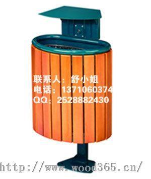 连体式木身分类垃圾桶,该产品连体设计新颖,木身外形美观耐用,顶部带