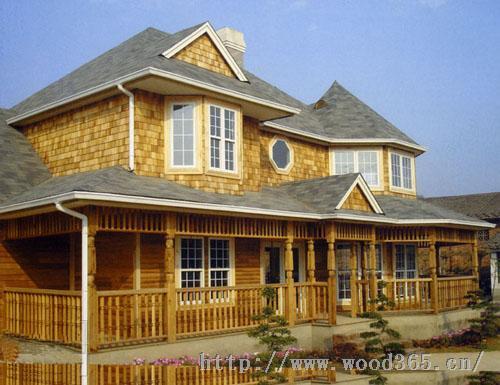 青岛木屋木结构