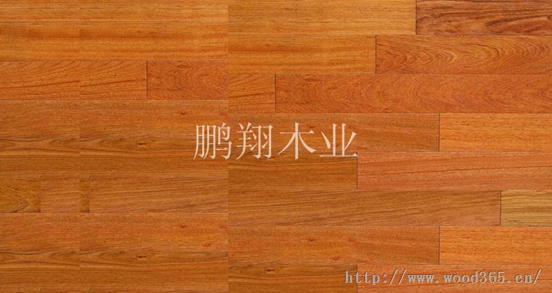 供应孪叶苏木实木复合地板