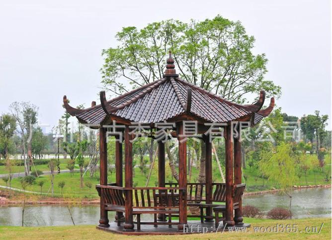 广东凉亭,园林景观亭子,别墅设计图
