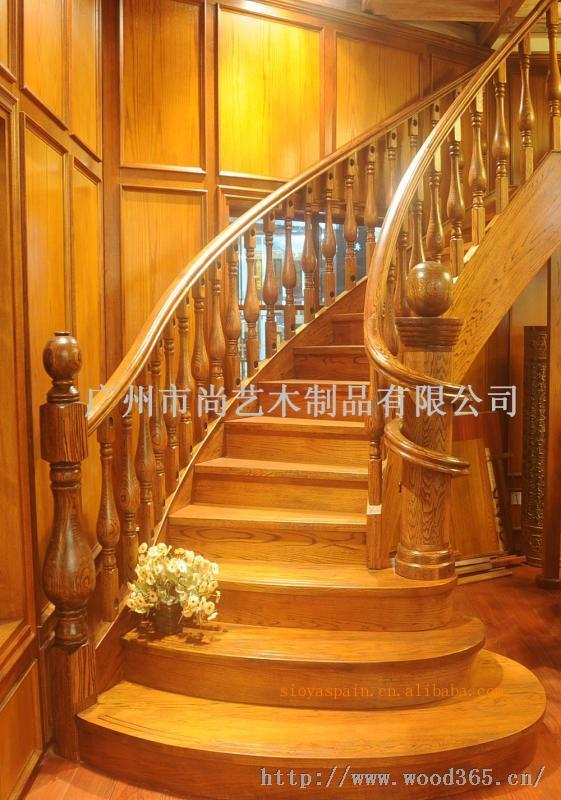 產品圖片   尚藝全實木定制家裝,精挑全球名貴樹種為原材料,以馳譽世界的西班牙木工藝設計及原裝配件為基礎,專為卓越人士提供個性樓梯設計和度身定做服務,尚藝名梯的每一部實木樓梯,都將成為傳世的奢華典藏。 夢想與光榮激勵著我們,我們決定譜寫一個木樓梯的傳奇;以完美的工藝打動世界,以卓越品質實現夢想。 藝無止境 成就尚品,在尚藝名梯的歷史上,從來沒有句號 適用范圍 本廠專業訂做別墅樓梯、家用樓梯、復式樓實木樓梯、水泥樓梯鋪、工程樓梯、實木樓梯踏板及護欄扶手,提供實木柜訂做設計,實木門雕花。 產品包括實木樓