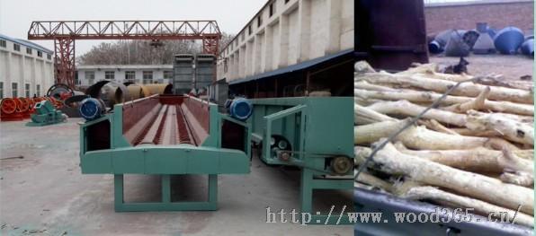 木材剥皮机|木材扒皮机去皮步骤-郑州邦美设备有限