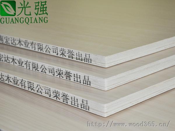 河南三聚氰胺双贴面多层生态板