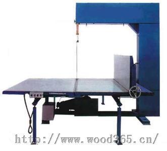 机厂生产海绵锯切机  立切机 聚氨酯发泡材料切割机卧式带锯机,开片机