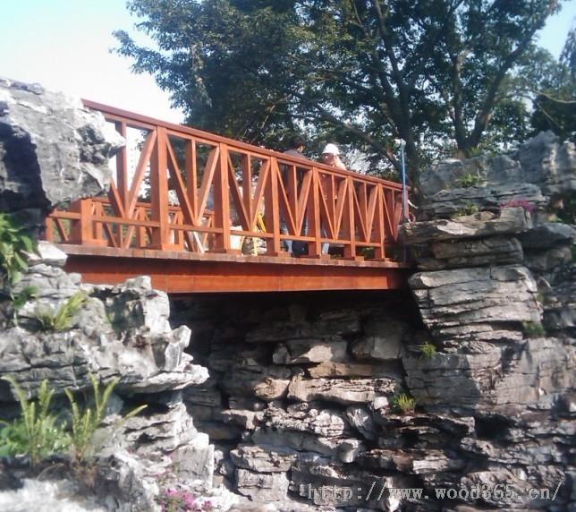 郴州防腐木木桥,郴州芬兰木木桥,丰盛防腐木