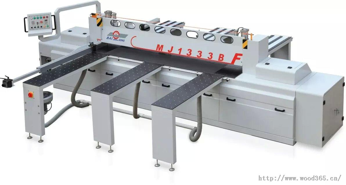 厂家供应往复式裁板锯开料锯优惠价格首选佰工