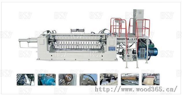液压单卡轴旋切机BQ1226