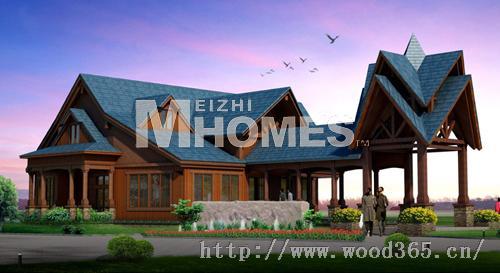 现代木结构住宅的研究,设计,建造及开发的企业,公司于2008年8月经上