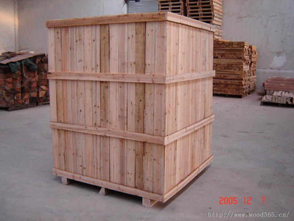 上海奉贤出口包装箱 免熏蒸木箱 木箱订做