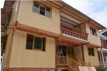 木结构房--绿色环保防火防潮