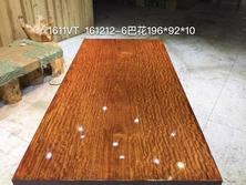 巴西花梨木巴花大板桌实木大板