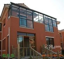 天津玻璃阳光房制作圆弧阳光房