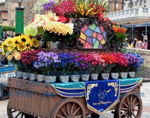 武汉市,景观区时尚花车