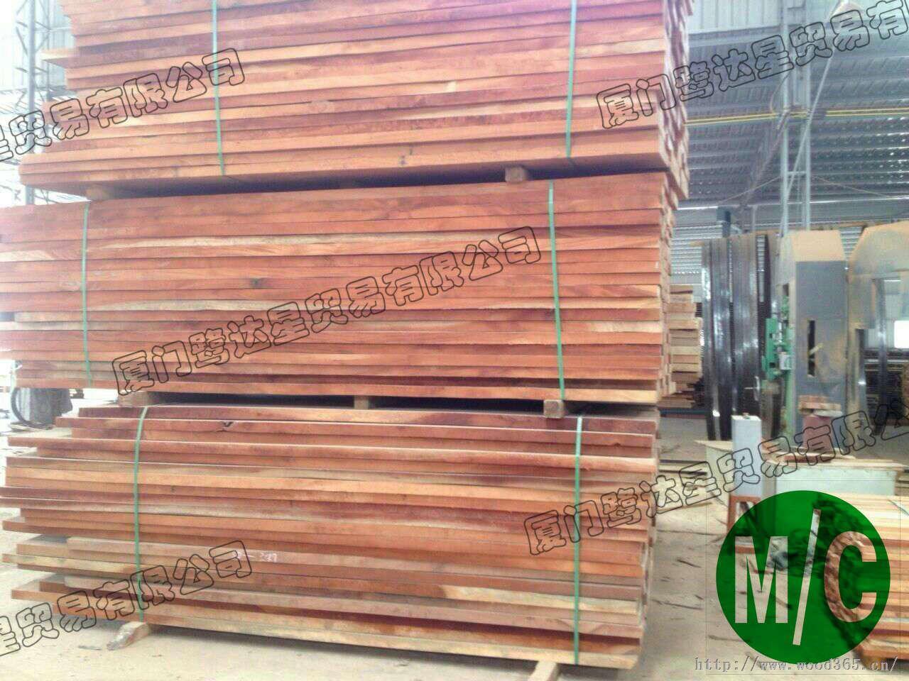 供应桃花芯木(mahogany),正宗桃花芯木板材,印尼桃花芯