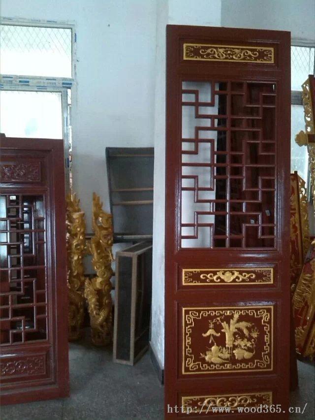 【佛堂庙宇木结构建筑,亭子,走廊,围栏】四川成都仿古