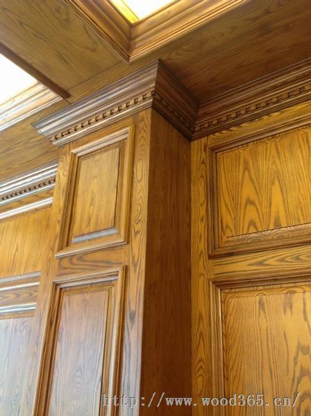 石家庄实木护墙板
