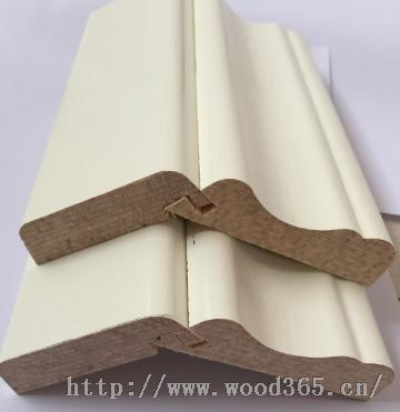 三聚氰胺纸热压欧式实木线条罗马柱顶线外挂线