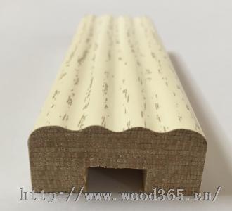 生态板三胺纸热压欧式实木线条罗马柱顶线外挂线