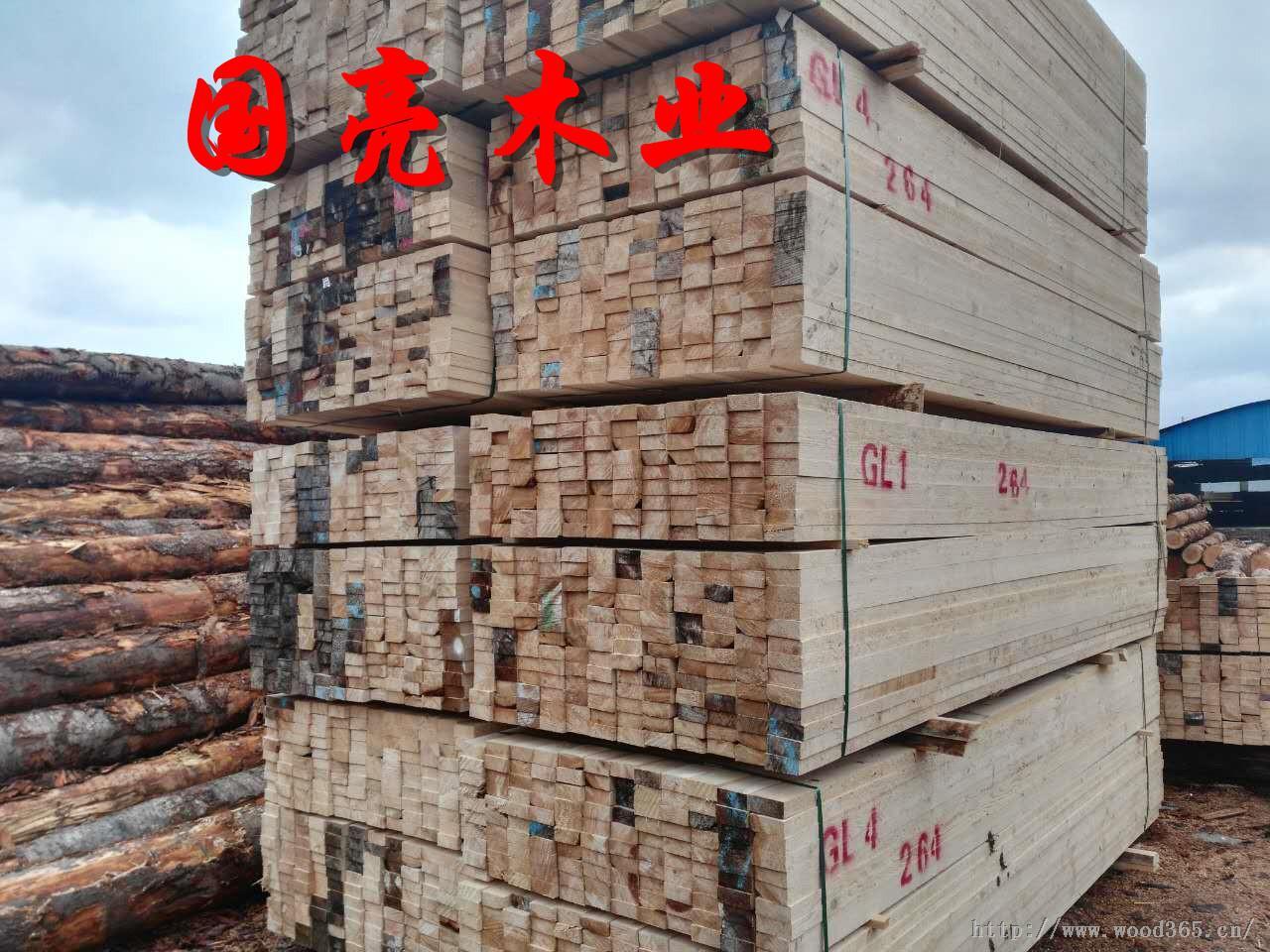建筑木方规格板方木材加工厂直销江浙沪一带