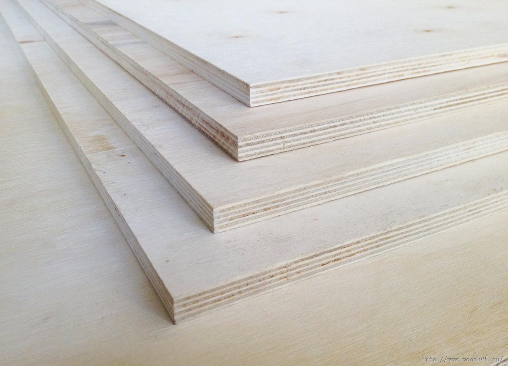 杨木基材多层板/多层实木胶合板/地板基材
