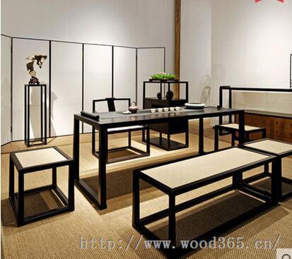 成都禅意家具(禅意中式家具,禅意画室国学堂家具,新中式禅意家具)