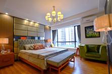 东南亚风格住宅搭配柚木地板效果