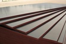 杂木芯多层板11层防水胶覆膜板
